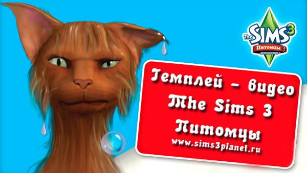 Гемплей - видео The Sims 3 Питомцы