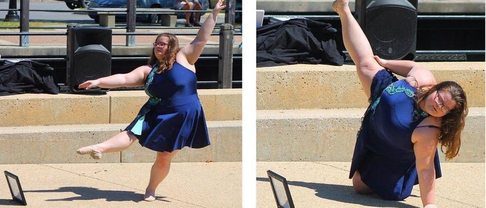 15-летняя балерина plus size вдохновляет людей со всего мира