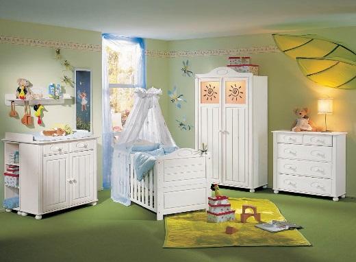 Как обустроить детскую комнату. Комната новорожденного ребенка.