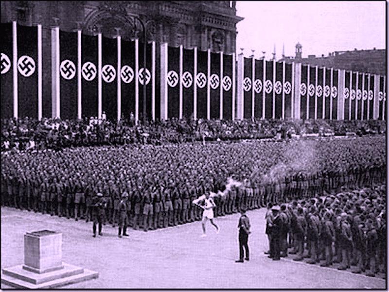 Олимпиада в нацисткой Германии. Берлин – 1936