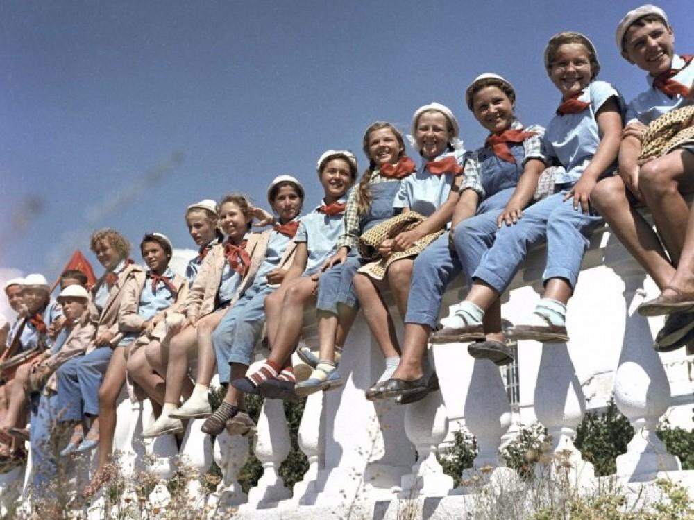 Советское воспитание детей оказалось отличным от российского
