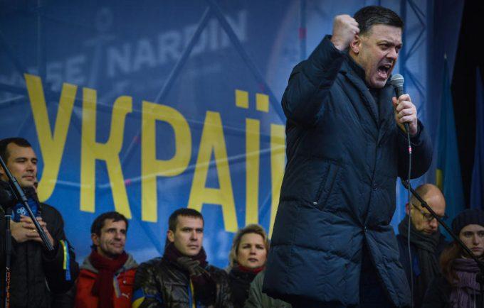 Тягнибок: Украина погружаетс…
