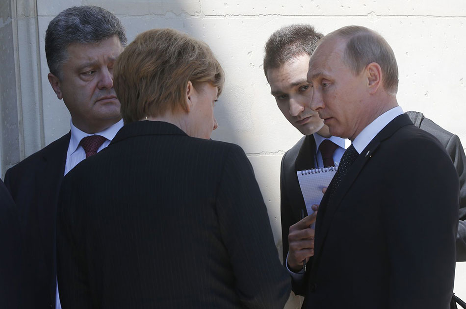 Как Порошенко запугал Путина