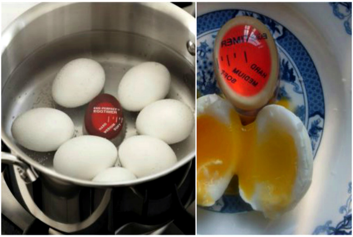 Таймер для варки яиц. | Фото: Лайфхакер.