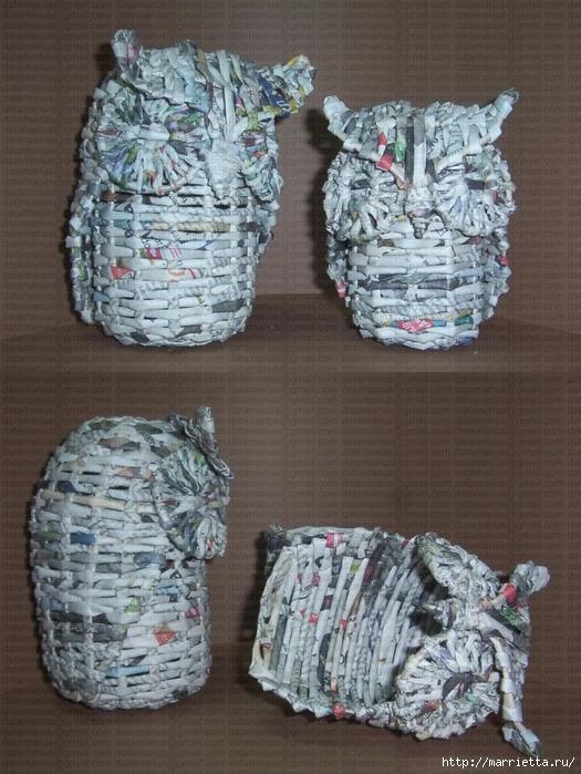 плетение из газет (108) (525x700, 307Kb)