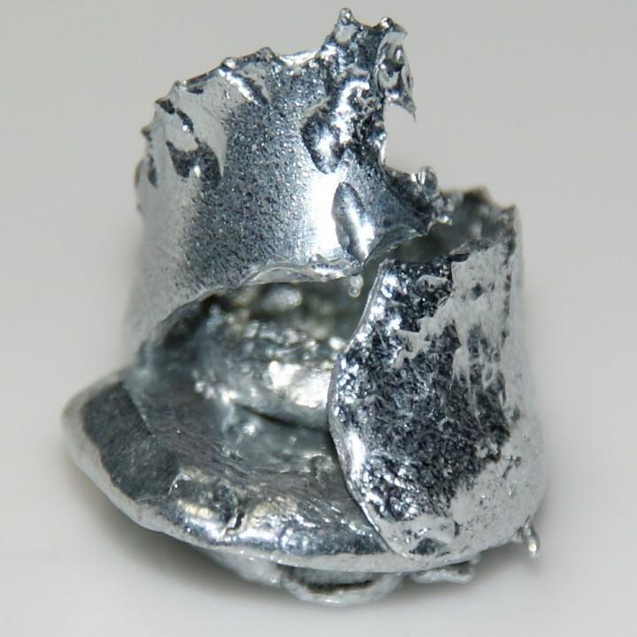 gallium04 Галлий   редкий метал, который тает в руках