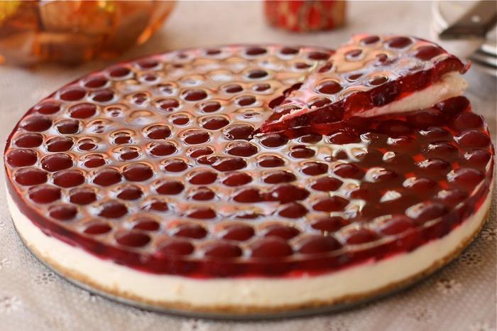 Вишневый торт без выпечки. Самый нежный и самый вкусный!