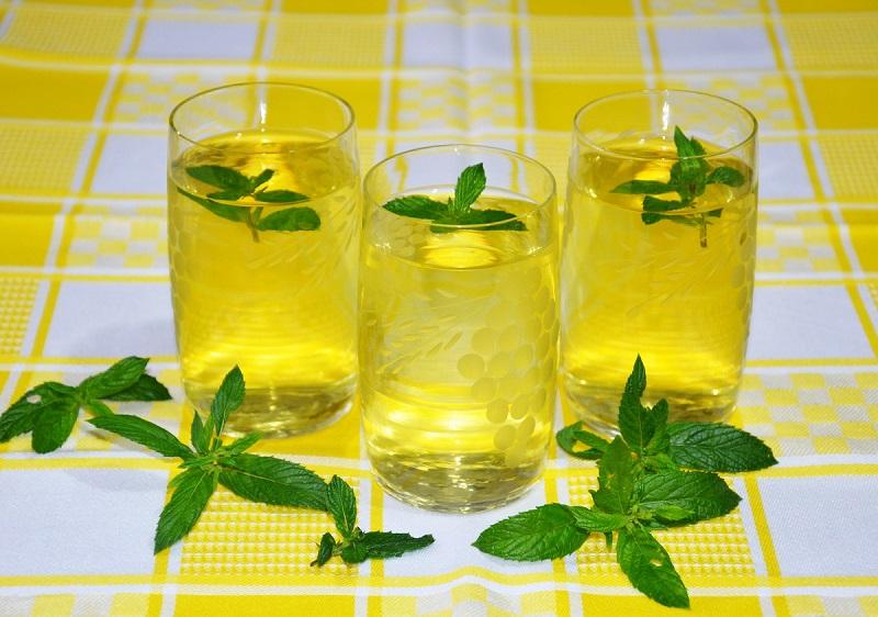 Мятно-лимонный напиток — волшебный эликсир для вашей печени!