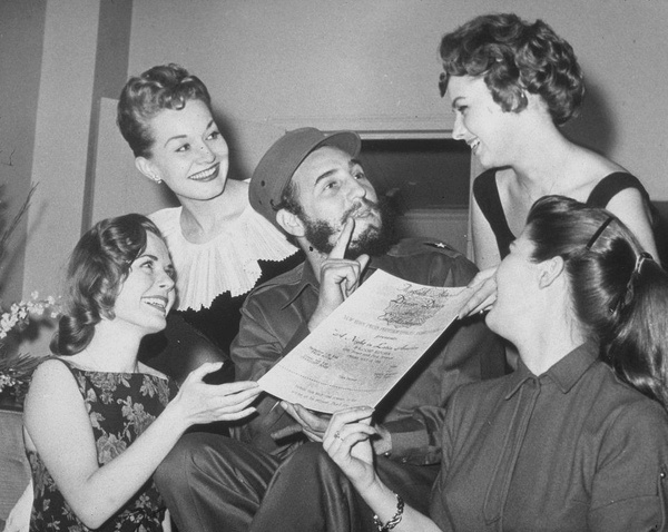 7 женщин, которых любил команданте Кастро