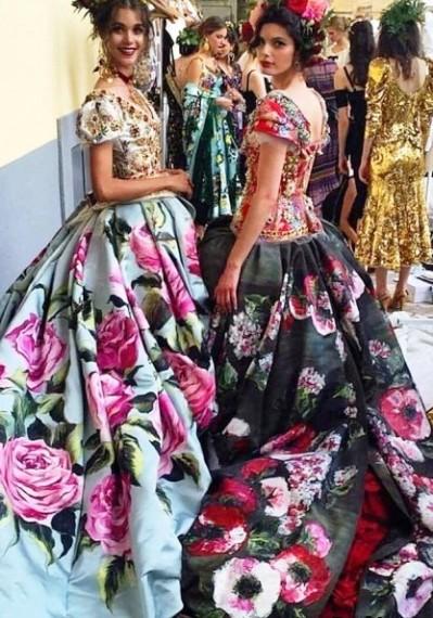 Dolce & Gabbana Haute Couture  осень-зима 2016-2017 — безумно ярко, женственно и очень шикарно
