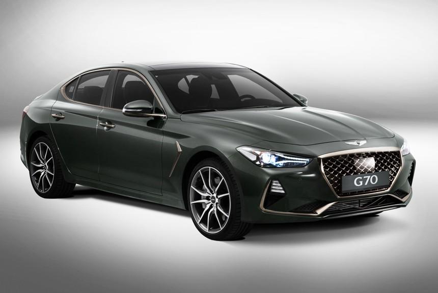 Представлен Genesis G70 — корейский конкурент «трешки» BMW и Мерседеса С-класса