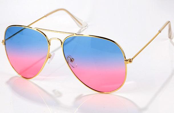 Модные очки с линзами-омбре