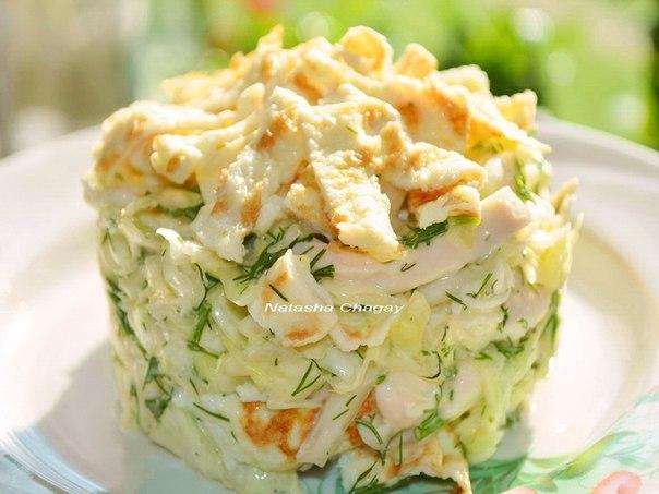 9 очень ВКУСНЫХ салатиков от Натальи Чагай
