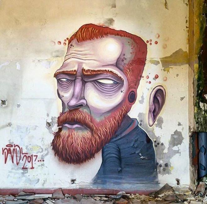 DavidL (Испания) в мире, граффити, интересное, искусство, подборка, стрит-арт, уличное искусство