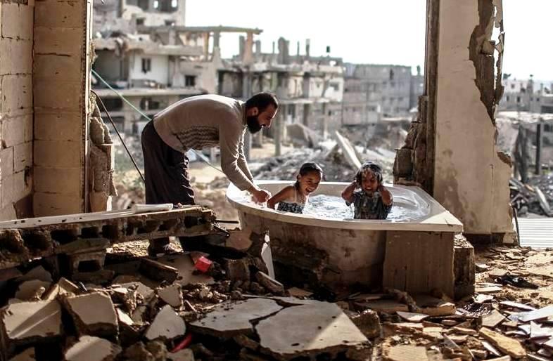 Дети сильнее войны: берущие за душу работы палестинского фотографа