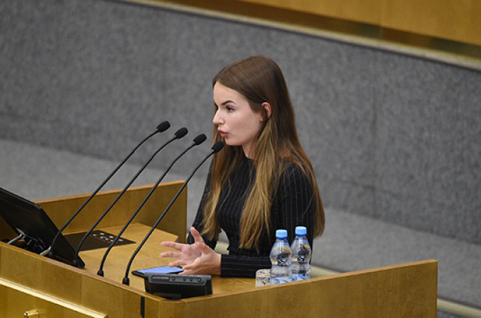 19-летняя блогер выступила в Госдуме и рассказала депутатам как стать ближе к народу