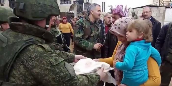 В Сети появился очень эмоциональный репортаж о российской военной полиции в Сирии