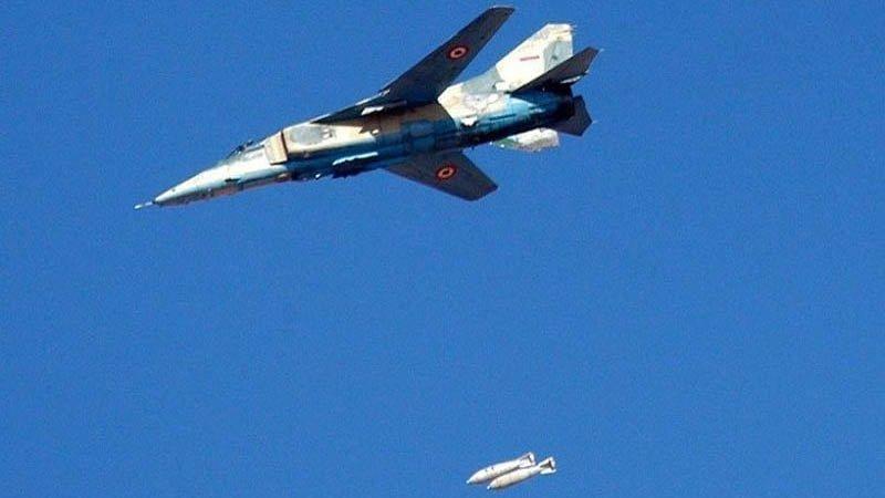 ВВС Сирии нанесли удары по п…