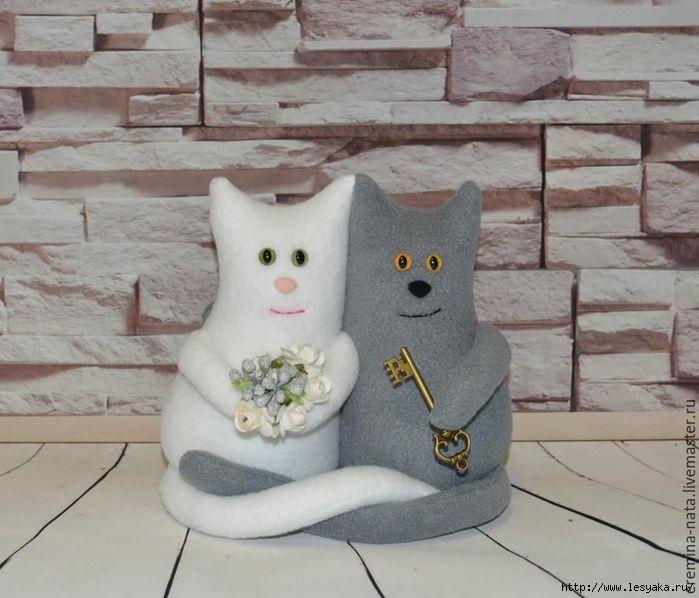 Коты-неразлучники своими руками