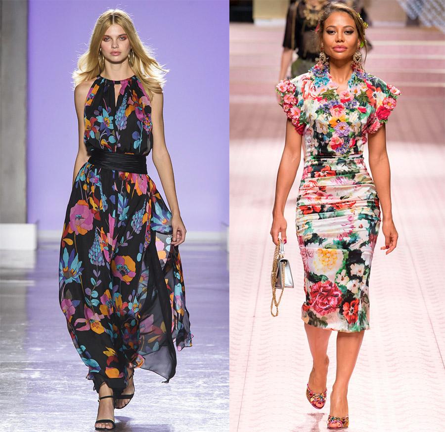 Цветочный принт – 30 лучших платьев с весенне-летнего подиума 2019