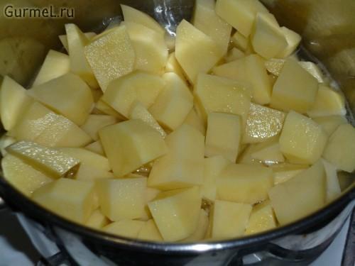 P1110586 500x375 Картофель с сыром и беконом   Gurmel