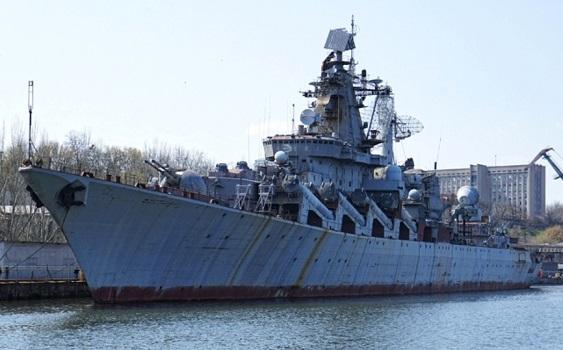 Ракетный крейсер «Украина» решено продать почастям для выплаты зарплат