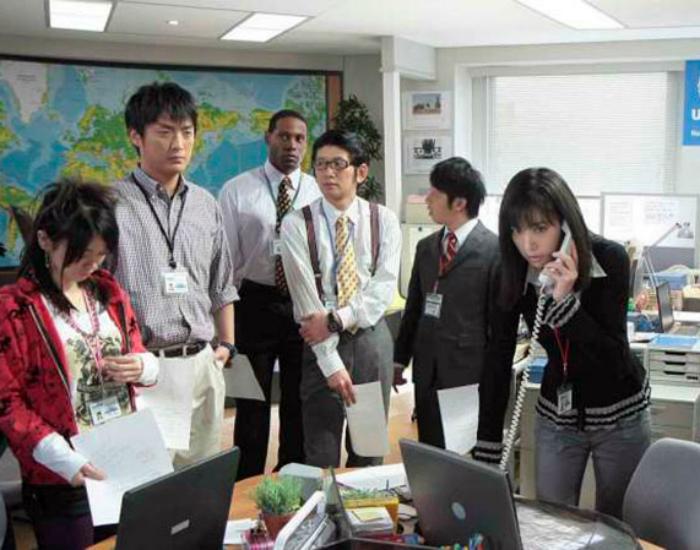 Рабочий график японцев.