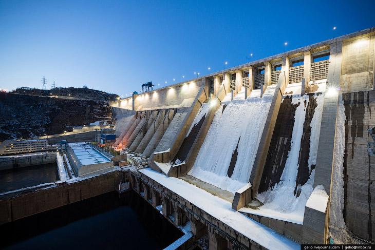 Бурейская ГЭС— самая мощная гидроэлектростанция на Дальнем Востоке
