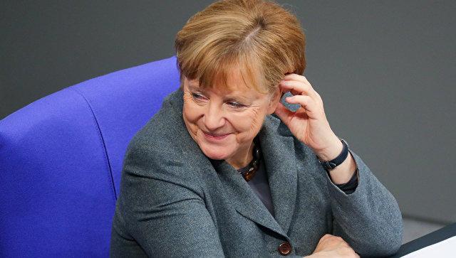 СМИ узнали, что Меркель планирует встречу с Трампом