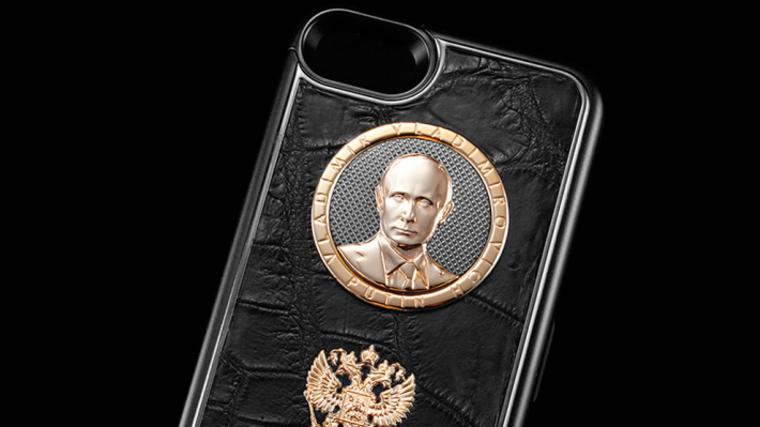 Компания Caviar выпустила iPhone X из крокодиловой кожи в поддержку Путина.