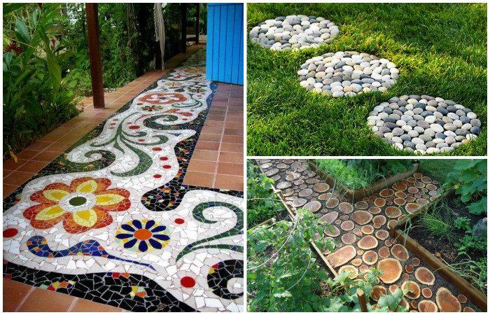 Идеи красивых садовых дорожек