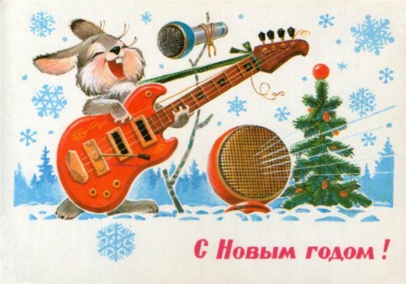 Одно из ярких воспоминаний детства: 20 чудесных старых новогодних открыток
