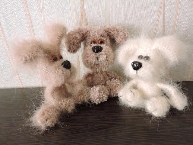 Амигуруми - Маленькие собачк…