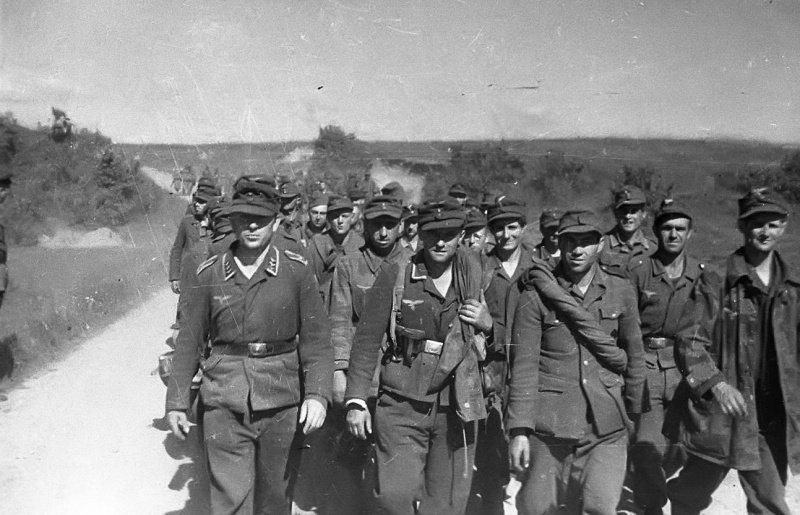 По воспоминаниям немецких ветеранов