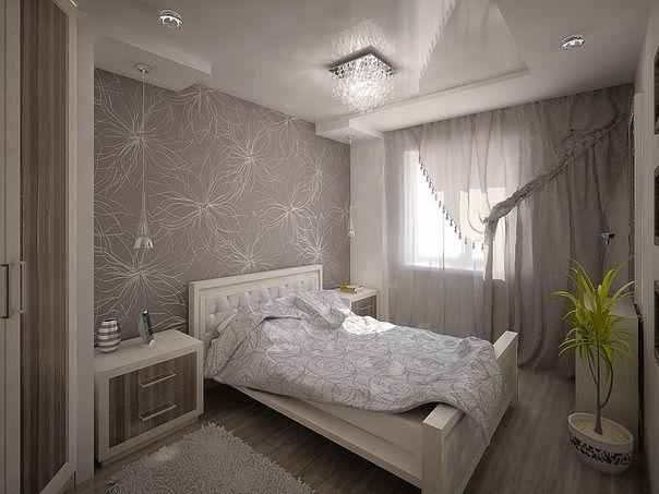 Хорошее решения для небольшой спальни