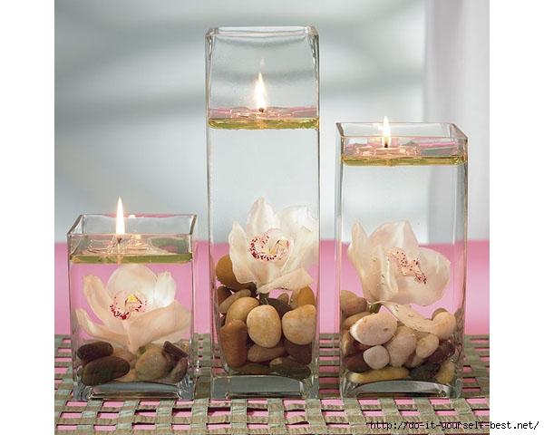 Как сделать красивую свечку самому себе