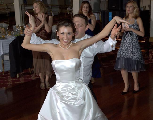 фото свадебной случайного стриптиза