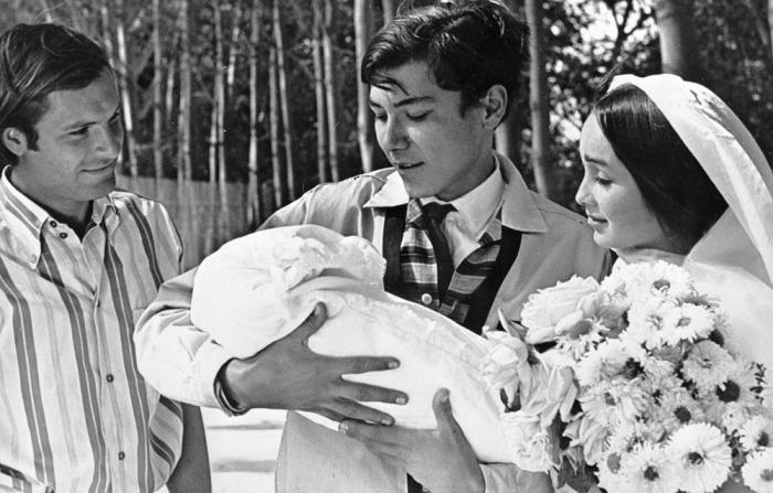 Рустам Сагдуллаев в фильме «Влюблённые» (1969)