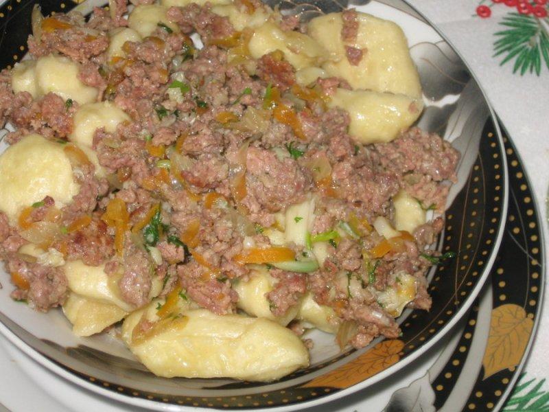 Рецепты по четвергам. Клёцки, ньокки, галушки, вареники. Галушки (1)