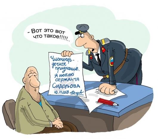 Полицейские будни! ))))