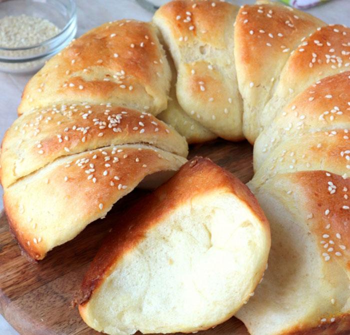 """Отменный сербский хлеб """"Погачице"""""""