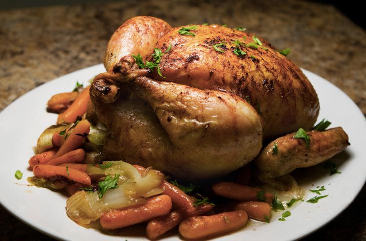 Курица по рецепту Джулии Чайлд