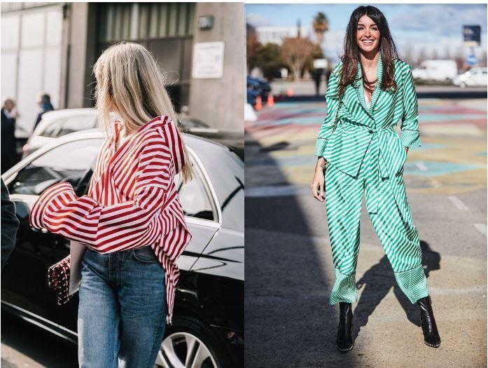 Как носить вещи в полоску? Модный тренд весна-лето 2018