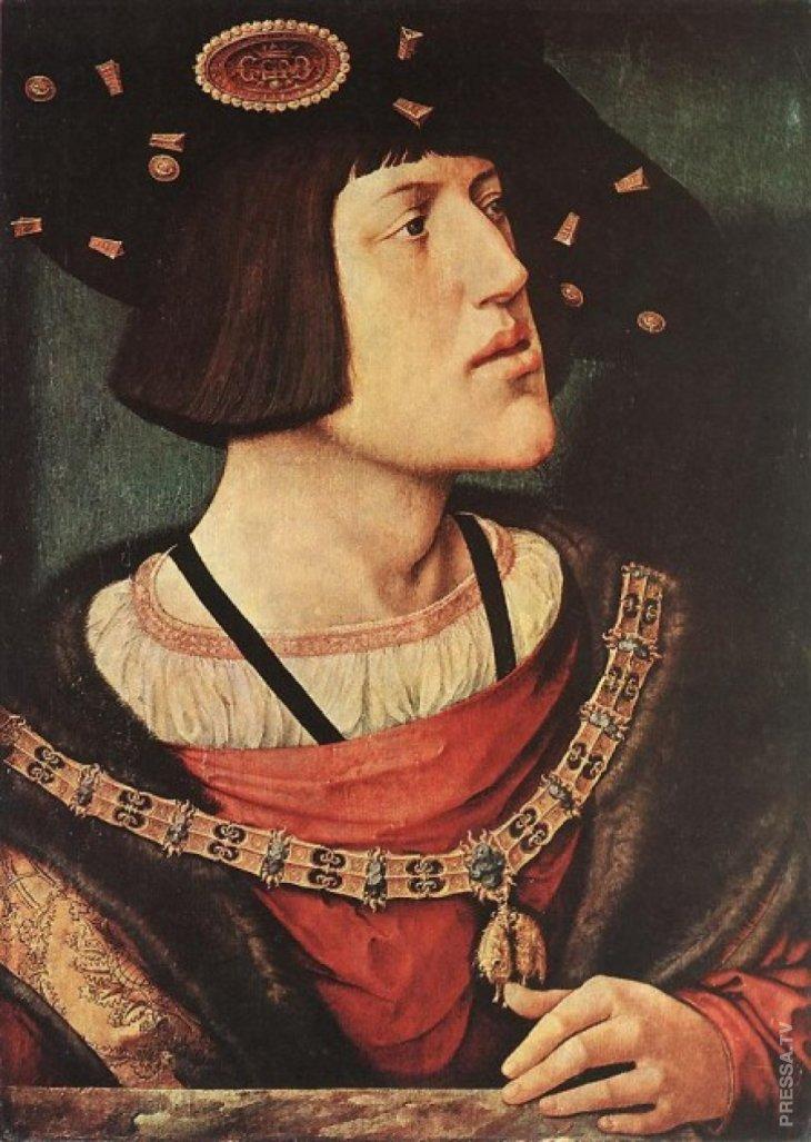 Карл V (1500 - 1558), император Священной Римской империи из дома Габсбургов