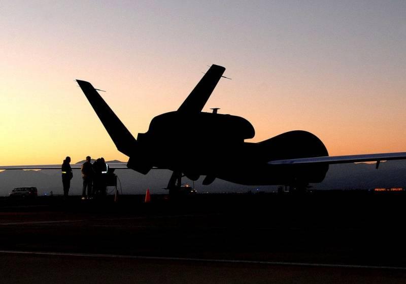 Что делал RQ-4A «Global Hawk» в 25 км от Мариуполя? Стратегическая разведка ВВС США наглеет у северных границ Кубани
