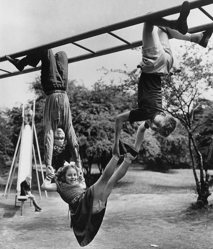 27. Эта девочка ничего не боится, Лондон, 1954 год  детство, прошлое, фотография