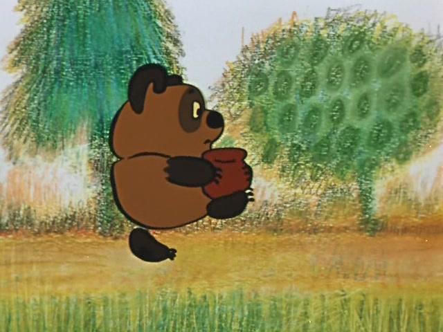 Винни-пух. Песня про мёд