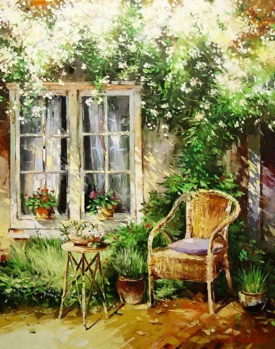 пейзажи и натюрморты Gleb Goloubetski - 10
