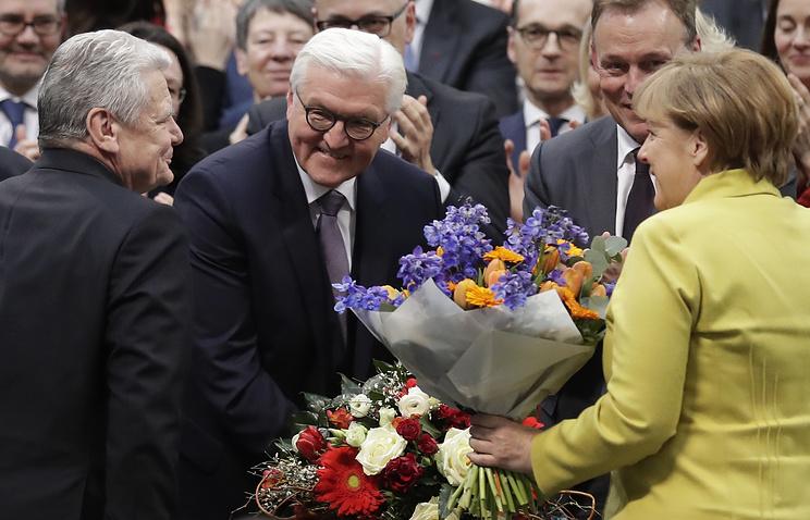 Штайнмайер избран 12-м президентом Германии