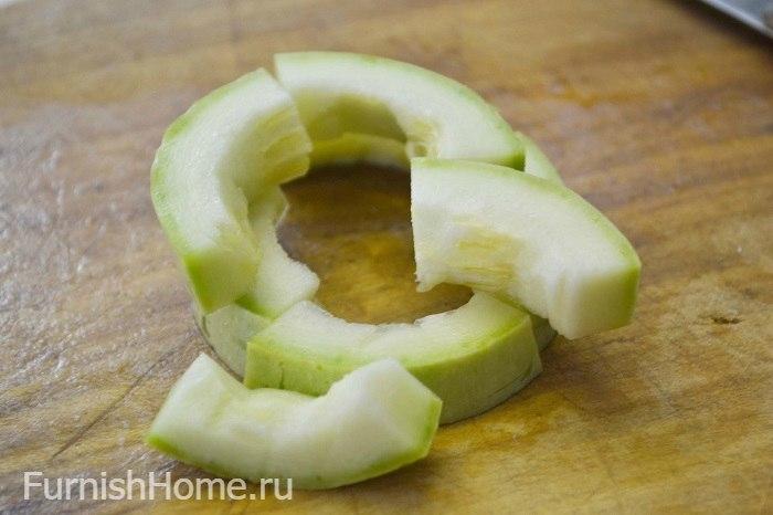 Консервированные кабачки со вкусом ананаса